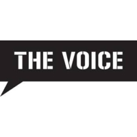 Logo of radio station The Voice 104.6