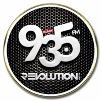 Logo of radio station WZFL Revolution 93.5
