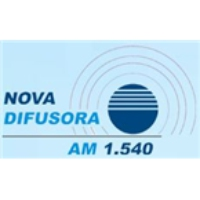 Logo of radio station Nova Difusora 1540 AM