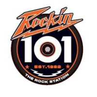 Logo of radio station WHMH Rockin 101