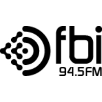 Logo of radio station FBi Radio