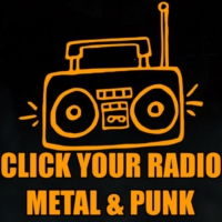 Logo of radio station Click Your Radio Metal & Punk