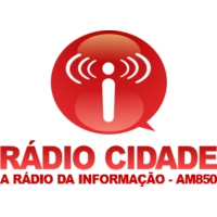Logo of radio station Rádio Cidade AM850