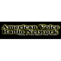 Logo of radio station American Voice Radio Network
