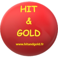 Logo of radio station Hit and Gold
