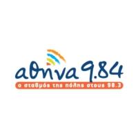 Logo de la radio Athina 98.4 FM