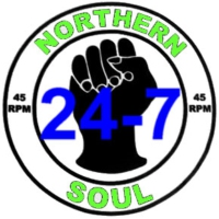 Logo of radio station 24-7 Northern Soul