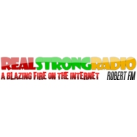 Logo of radio station Real Strong Radio