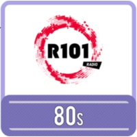 Logo of radio station R101 80