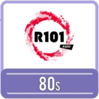 Logo de la radio R101 80