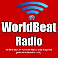 Logo of radio station WorldBeat Radio