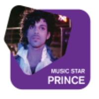 Logo of radio station Radio 105 Network Music Star PRINCE