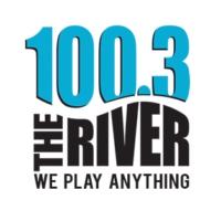 Logo of radio station WQRV-FM 100.3 The River