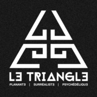 Logo of radio station Le Triangle