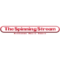 Logo de la radio The Spinning Stream : Nintendo Music Radio
