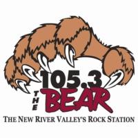 Logo of radio station WBRW The Bear 105.3
