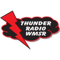 Logo of radio station WMSR Thunder Radio