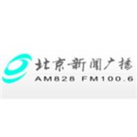 Logo of radio station Beijing News Radio 100.6