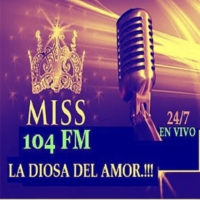 Logo of radio station Miss 104 FM