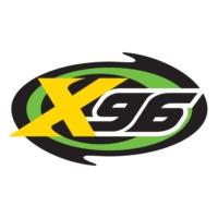 Logo of radio station KXRK X96