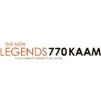 Logo of radio station KAAM Legends 770 AM