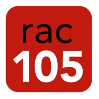 Logo of radio station RAC 105