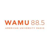 Logo of radio station WAMU 88.5