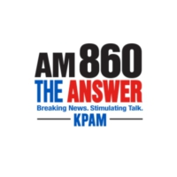 Logo de la radio KAPM AM 860 The Answer