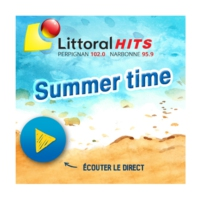 Logo of radio station Littoral Hits Summer Time
