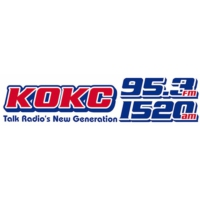 Logo of radio station 1520 KOKC