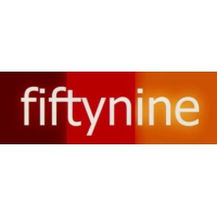 Logo of radio station Fiftynine