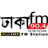 Logo of radio station Dhaka FM 90.4