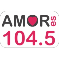 Logo of radio station XHDC Amor es 104.5 FM