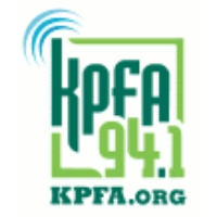 Logo of radio station KPFB