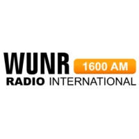Logo de la radio WUNR Radio International