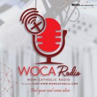 Logo of radio station wowcatholic (WOCA) Radio