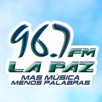 Logo de la radio FM La Paz 96.7