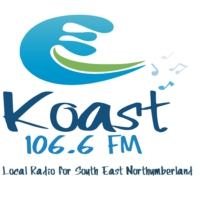Logo of radio station Koast Radio