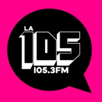 Logo of radio station La 105