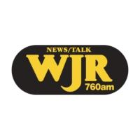 Logo of radio station WJR 760 AM