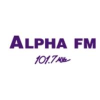 Logo de la radio Alpha FM 101.7