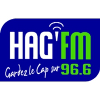 Logo of radio station HAG'FM