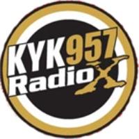 Logo of radio station CKYK Radio X