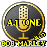 Logo of radio station A.1.ONE BOB MARLEY & CO