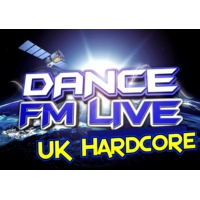 Logo of radio station Dancefmlive Hardcore