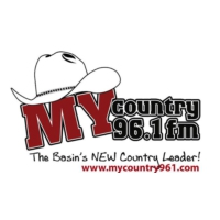 Logo of radio station KMRK My Country 96.1 FM