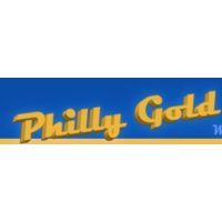 Logo of radio station Philly Gold Radio