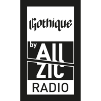 Logo of radio station Allzic Radio GOTHIQUE