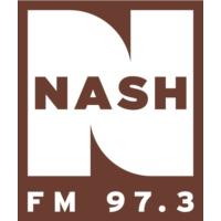 Logo of radio station KHKI Nash FM 97.3