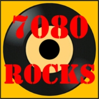 Logo of radio station 7080rocks